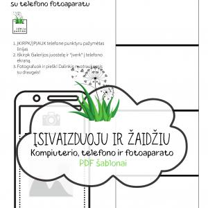 pdf šablonas atsisiųsti TELEFONO GALERIJA vaikams | Idėjų Paštas