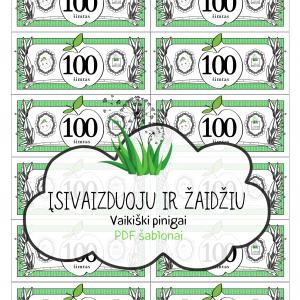 vaikiski zaisliniai pinigai sablonas pdf atsisiusti